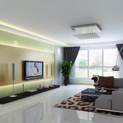 精致的客厅造型图