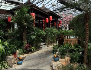 180平米中式庭院专用家装园艺设计效果图