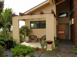 138平米现代简约风格农村住房设计图