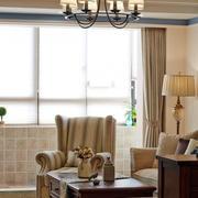 美式简约风格客厅家具设计