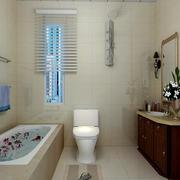 简欧风格卫生间浴室柜装饰