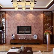 中式风格客厅吊顶装饰