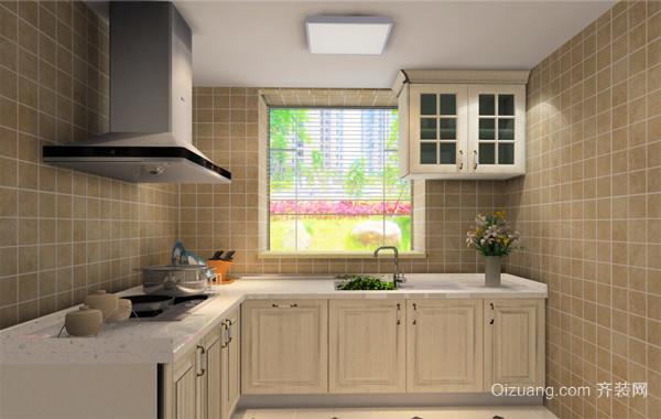 2016充满创意的大户型欧式家庭厨房装修效果图