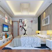 明亮的卧室整体设计