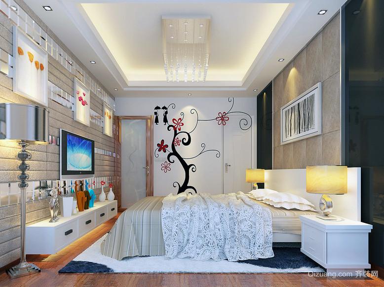 40平米小户型欧式精致的 卧室装修 效果图实例