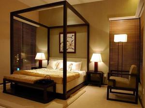 180平米三室一厅简约中式风格装修效果图