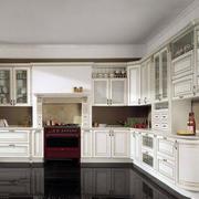 韩式风格简约厨房橱柜装饰