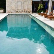 简欧迷人别墅28平米游泳池装修设计图
