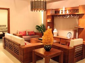 120平米客厅美克美家家具装修效果图