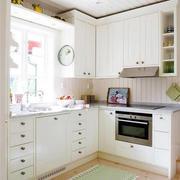 韩式清新风格厨房窗户装饰