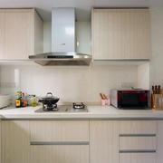 现代都市6平米厨房纯白色背景装修图片