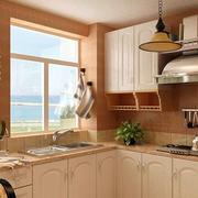 韩式风格厨房置物架装饰
