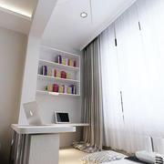 现代简约风格阳台榻榻米置物架装饰