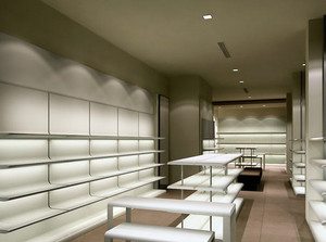 80平米时尚现代简约风格展示柜台装修效果图