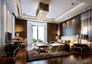新古典300平豪宅主卧室装修设计效果图