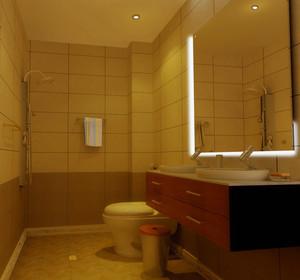 小户型都市宜家欧式小卫生间装修效果图鉴赏
