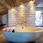 北欧风格小户型阁楼卫生间装修效果图