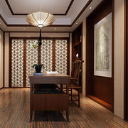 中式简约风格书房装饰