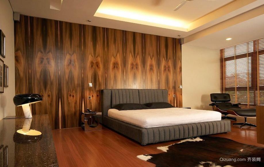 2016后现代别墅豪宅卧室装修设计效果图