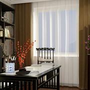 书房简约风格飘窗装饰