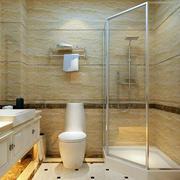 卫生间简欧风格卫生间瓷砖设计