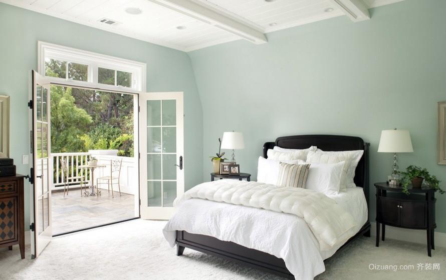 清新160平米小别墅卧室阳台装修图片大全