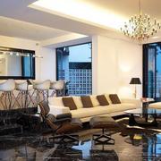 205平米现代错层豪宅装修设计效果图