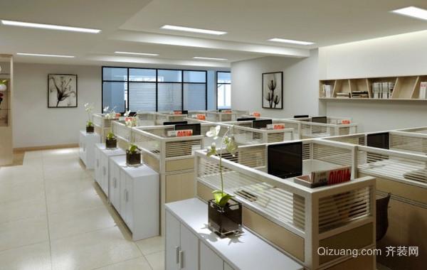 180平米大型现代简约风格北京写字楼装修效果图