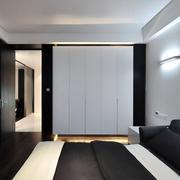 现代简约白色系卧室装修