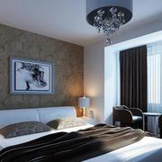 冷色调卧室设计图片