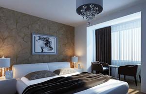 新房自然风格小卧室装修效果图