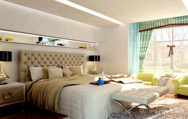 40平米小户型欧式精致的卧室装修效果图实例