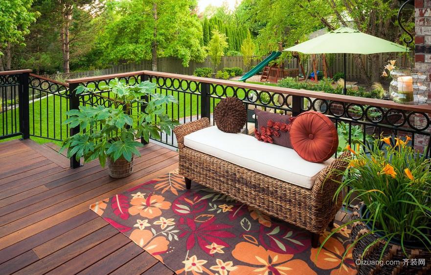 迷人500平米大别墅庭院绿化装修设计图