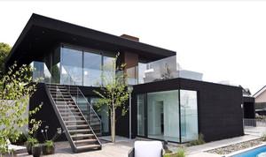 摩登俊秀都市迷人别墅装修设计效果图