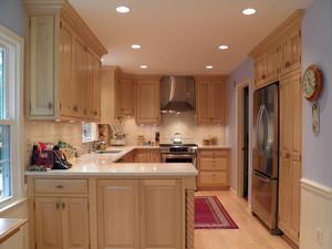 原木风情190平米小别墅厨房装修图片大全