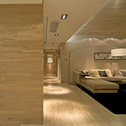 现代简约风格客厅玄关装饰