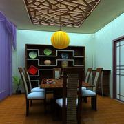 东南亚餐厅吊顶装饰