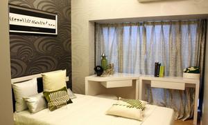 120平米精装家庭房间设计效果图