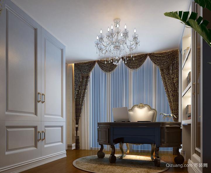 100平米现代大户型精致的书房装修效果图