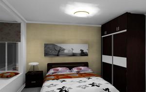 深色调卧室设计图片