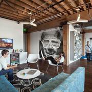 旧金山世界500强企业时尚办公室装修图