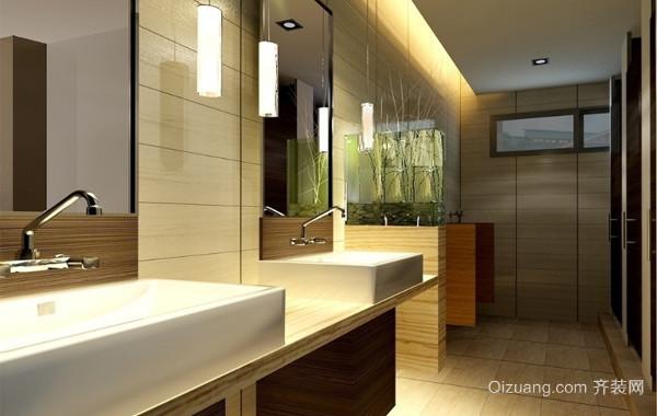 精致的现代欧式小卫生间装修效果图实例欣赏