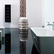 浴室简约风格隔断装饰