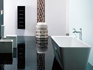 40平米现代简约风格卫浴装修效果图