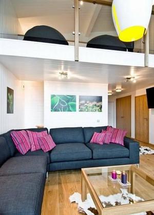 90平米现代简约风格居民楼装修效果图