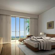 卧室落地窗设计图片