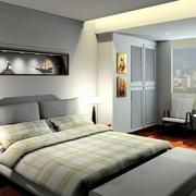 现代简约风格卧室衣柜装饰
