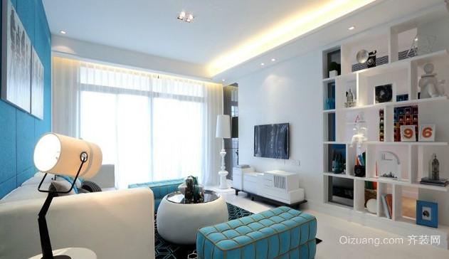 三居室精致液晶电视墙装修效果图大全