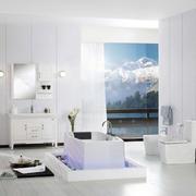 现代简约风格浴室柜装饰