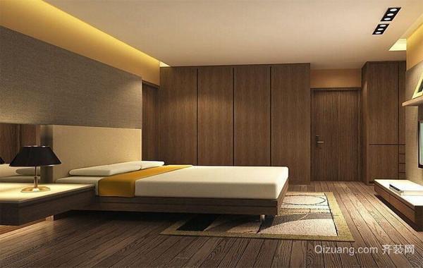 100平米时尚风格家庭房间设计效果图
